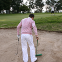ゴルフ場のバンカーにおけるルール&マナー